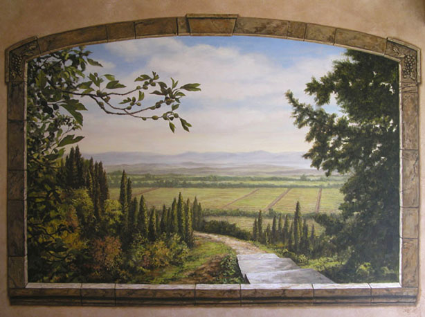 Murals 2 for 3d wall mural painting